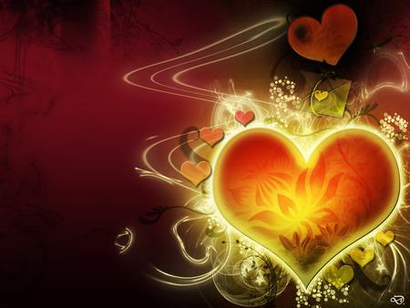 corazones de amor. comFlores corazones y amor