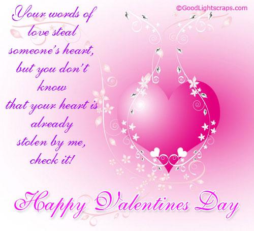 Valentine quotes Comment